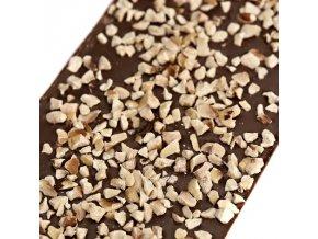 Le Chocolat mléčná čokoláda s lískovými ořechy 110g