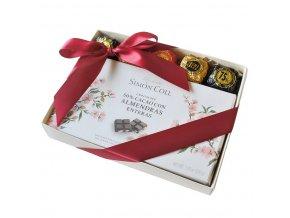 Dárkový balíček s hořkou mandlovou čokoládou