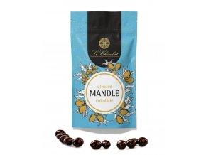 Le Chocolat mandle v tmave cokolade