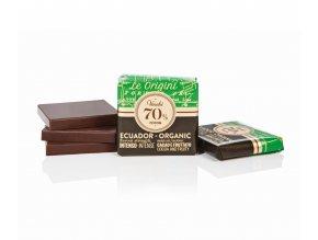 Venchi čtvereček GrandBlend BIO 70 % cocoa Ecuador 1 ks