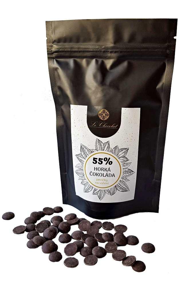 Le Chocolat Horká čokoláda 55% 200g