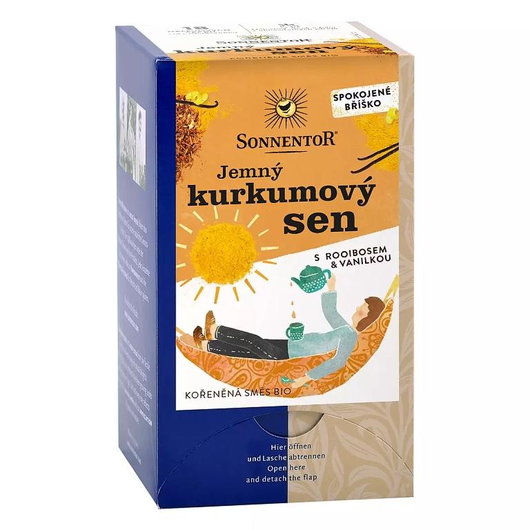 Sonnentor čaj Jemný kurkumový sen 27g