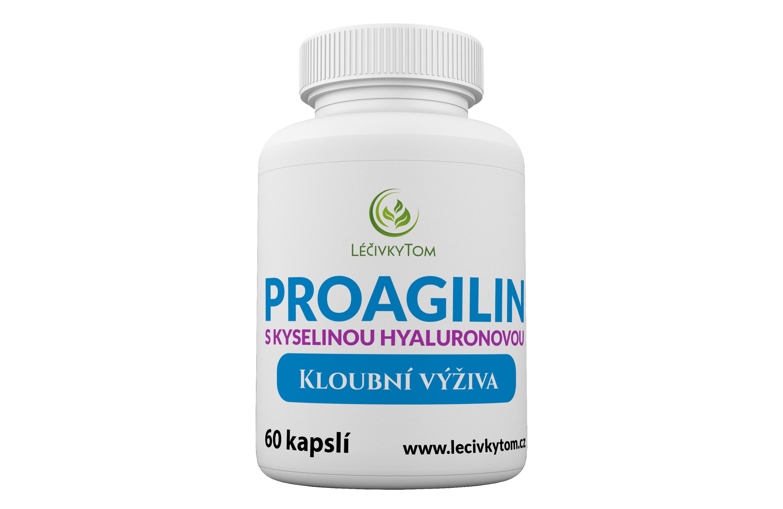LéčivkyTom Proagilin s kyselinou hyaluronovou - kloubní výživa (60 kapslí)