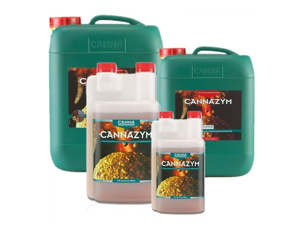 CANNAZYM The enzymes in CANNAZYM have many benefits