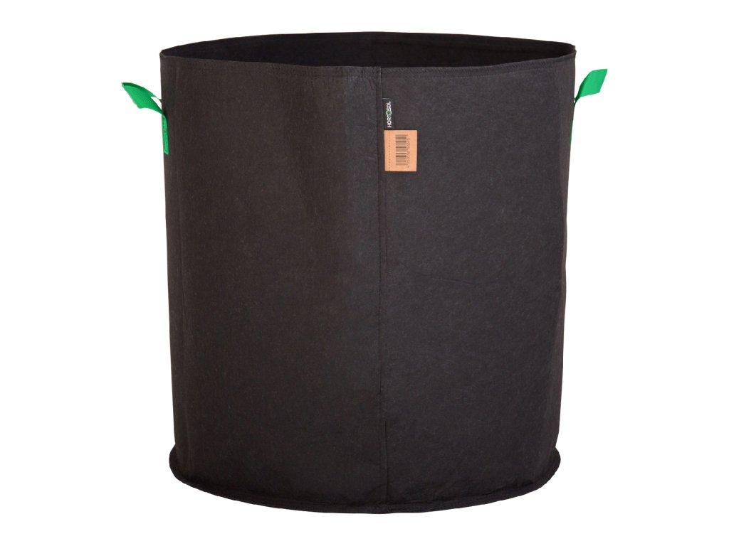 100 Liter Fabric pot black green 50x53cm 2
