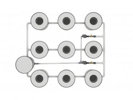 hydroponic system rdwc 9 growrilla hydroponics