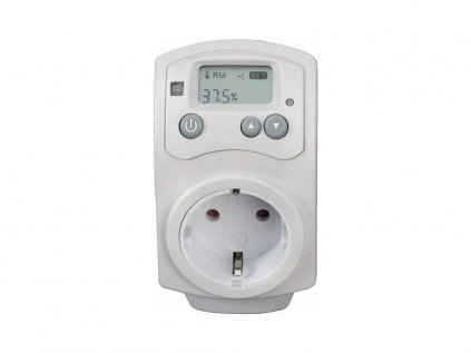 Socket humidistat (hygrometer) for controlling dehumidifiers or humidifiers HH-810