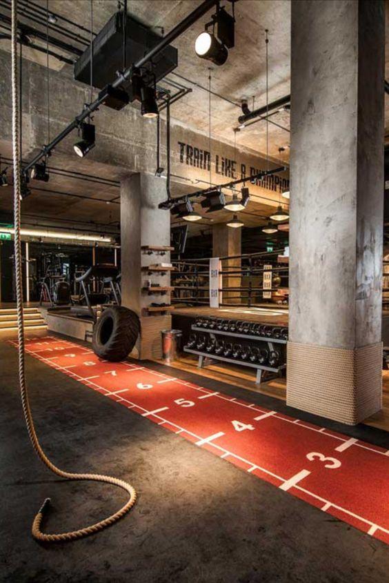 Jaké osvětlení do fitness centra?