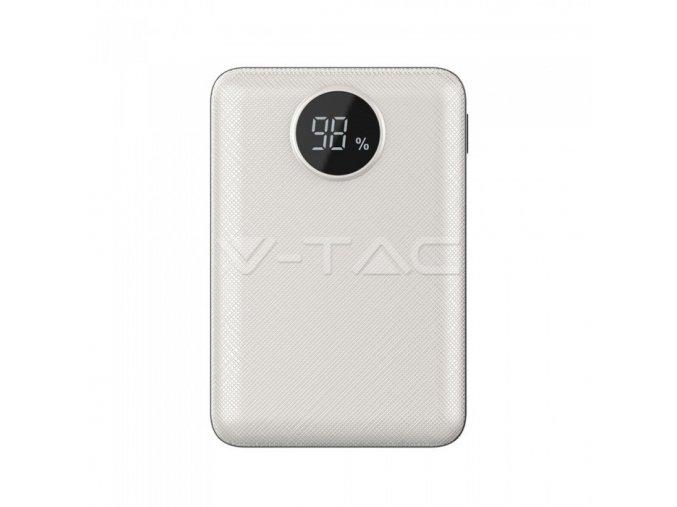 Powerbanka V-TAC VT-3501 10000mAh bílá