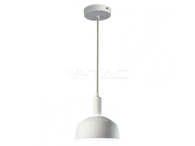 Lustr lampový bílý