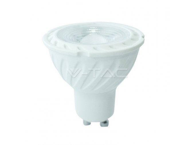 LED Spotlight SAMSUNG CHIP - GU10 6.5W Ripple Plastic 110`D 4000K