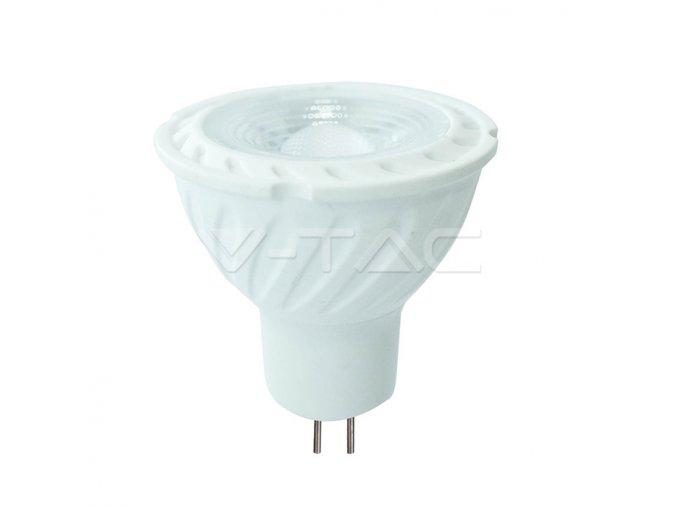 LED Spotlight SAMSUNG CHIP - GU5.3 6.5W MR16 Ripple Plastic 38` 4000K