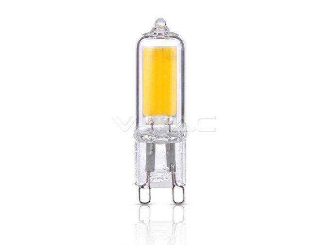 LED žárovka G9 2W sklo