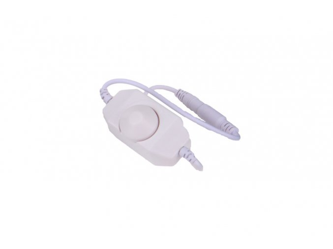 Stmívač bílý s kabely