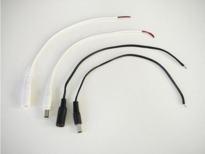 DC konektor s kabelem - samec