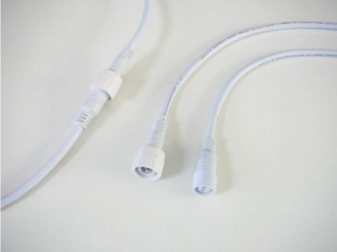 Vodotěsná spojka s kabelem 2x0,75