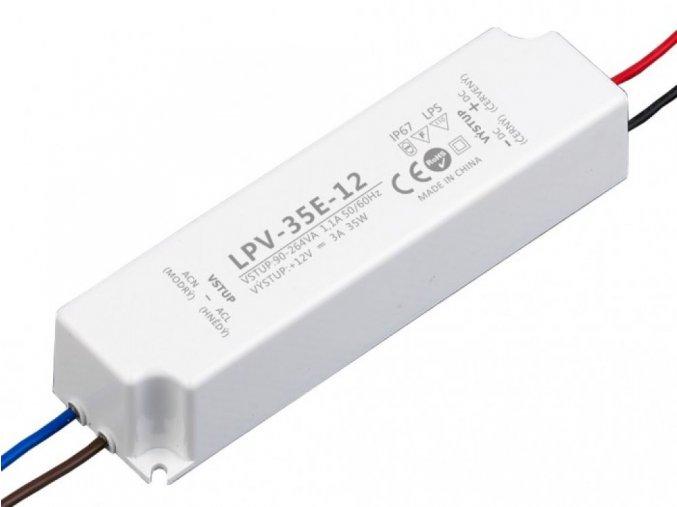 LED zdroj 12V 35W - LPV-35E-12