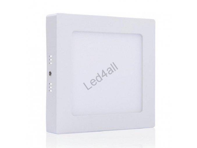 LED povrchové světlo čtverec 24W  new