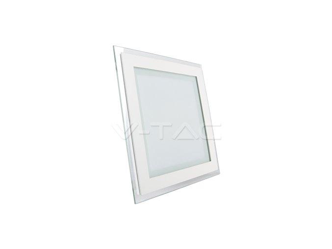 LED panel do SDK čtverec se skleněným rámečkem NW 18W