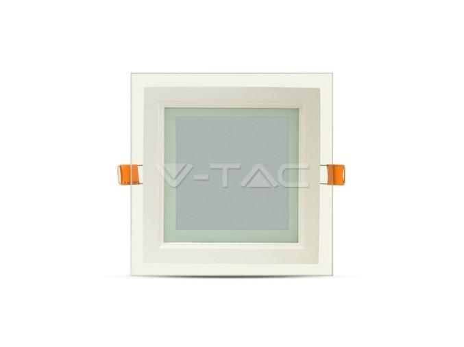 LED panel glass čtverec do SDK 12W NW