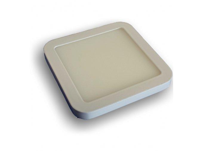 LED podhledové světlo čtverec 12W slim