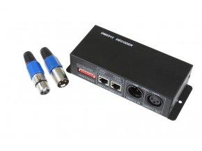 LED DMX ovladač 4 kanály