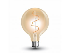LED žárovka retro 4W E27 2200K G95