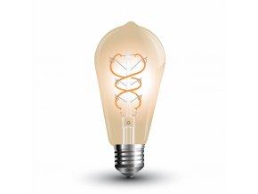 LED žárovka retro 5W E27 2200K ST64