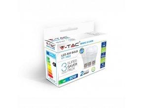 LED Bulb - 9W E27 A60 Thermoplastic Natural White 3PCS/PACK