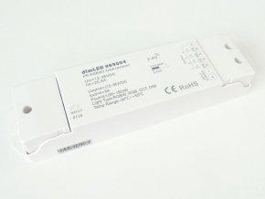 RGBW RF přijímač stmívač LED 4x5A 12-36VDC