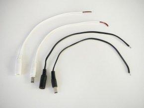 DC konektor s kabelem - samice