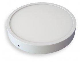 LED přisazené světlo kruh 18W slim