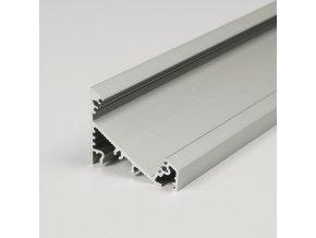 Profil WIRELI CORNER27 G/UX 30/60° hliník anoda 2m