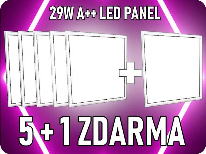 20999-2_led-panel-29w--ctverec-60x60-cm--3400lm-vysocesvitive-a---5-1-zdarma