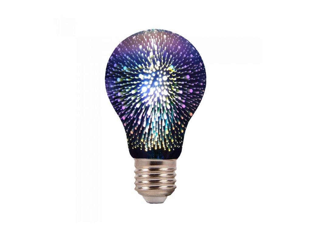 17474 2 e27 led 3d filament zarovka 3w 20lm a60 3000k
