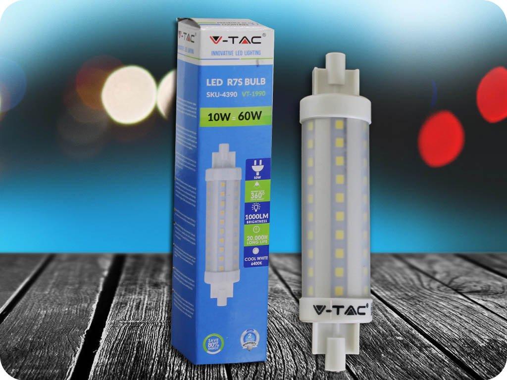 R7S Led Žárovka 10W (Barva světla Studená bílá)