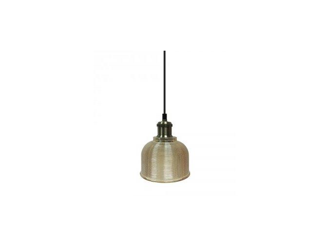 1166 1 zavesne svitidlo jantarove sklo 145 mm