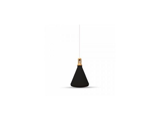Závěsné Svítidlo, Černé, Ø250 Mm  + Zdarma záruka okamžité výměny!