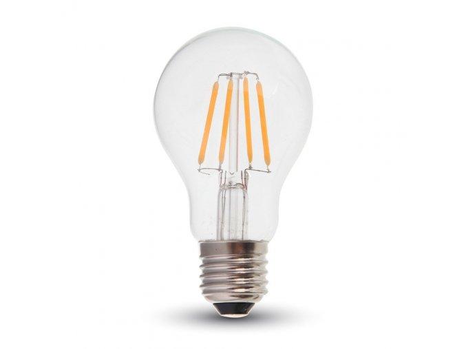 125 e27 led filament zarovka 4w 350lm a60 premium series 2700k stmivatelna