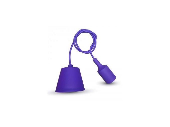 1262 privesek pro e27 zarovky purpurovy