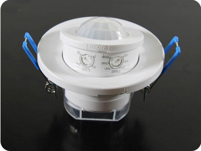 1292 3 stropni zapustnou infracerveny pohybovy senzor nastavitelny uhel ip20 bily