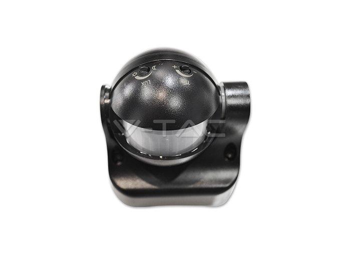 Infračervený Pohybový Senzor Na Zeď, 180 °, Ip44, Černý  + Zdarma záruka okamžité výměny!