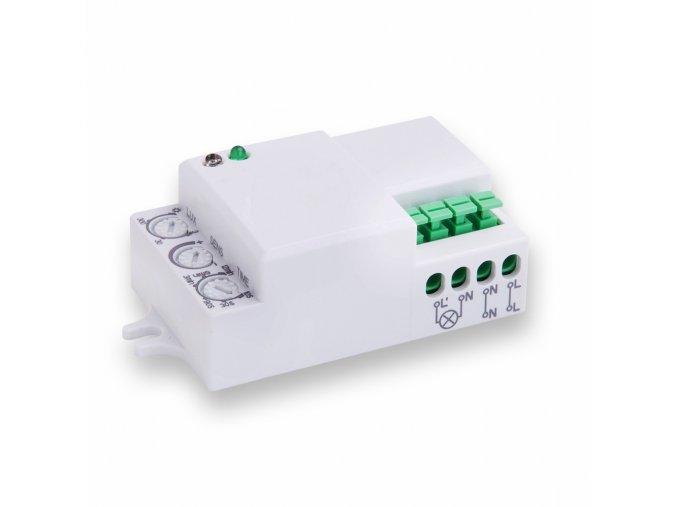 1307 2 microwave pohybovy senzor na zed 180 360 ip20