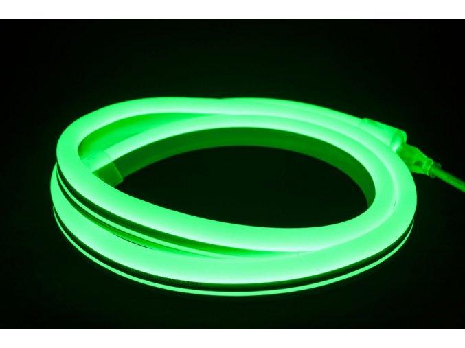 1466 1 led neon flex zeleny 10m