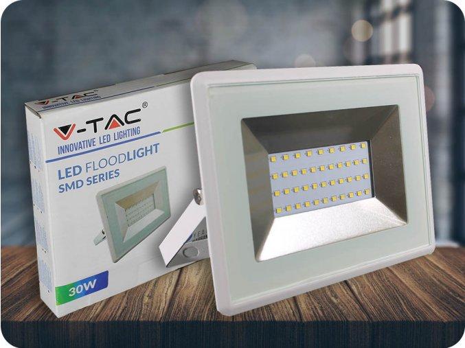 LED REFLEKTOR 30W (2550LM), BÍlÝ, IP65 (Barva světla Studená bílá 6500K)