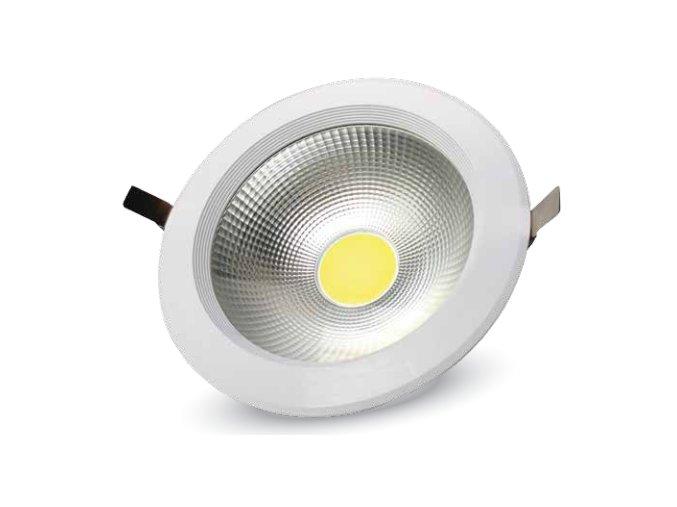 Cob Led Zapuštěné Svítidlo 40W, Vysocesvítivé, A ++ (Barva světla Studená bílá)