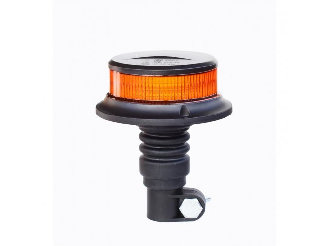 16157 1 led vystrazne svetlo pico led orange flex r10 r65 s drzakem