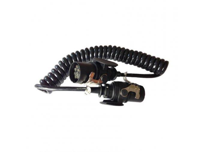 16160 1 spiralovy kabel 4m 15 pol 24v