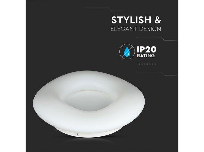 LED Designer stropní svítidlo 22W (2100LM), bílé, se změnou  světla, stmívatelné