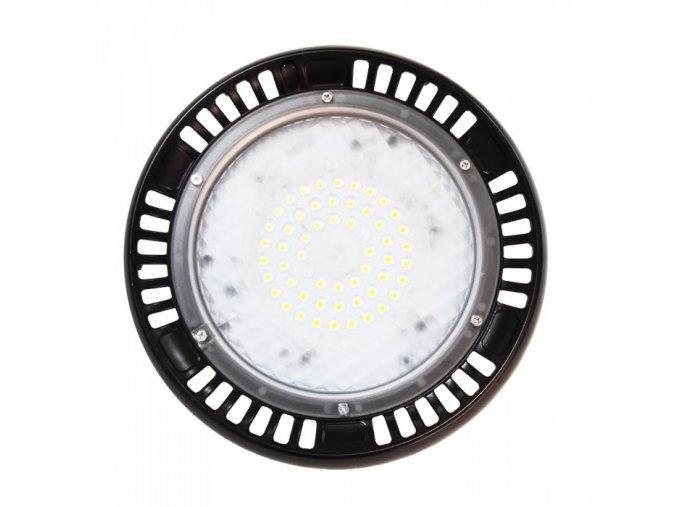 Průmyslový LED reflektor UFO (HighBay), 50W (4000Lm), černý (Farba svetla Studená biela 6400K)